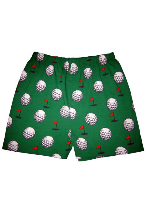 Mens 1 Pair Magic Boxer Shorts In Golf Pattern Product Image