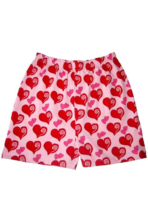 Mens 1 Pair Magic Boxer Shorts In Heart Pattern Product Image