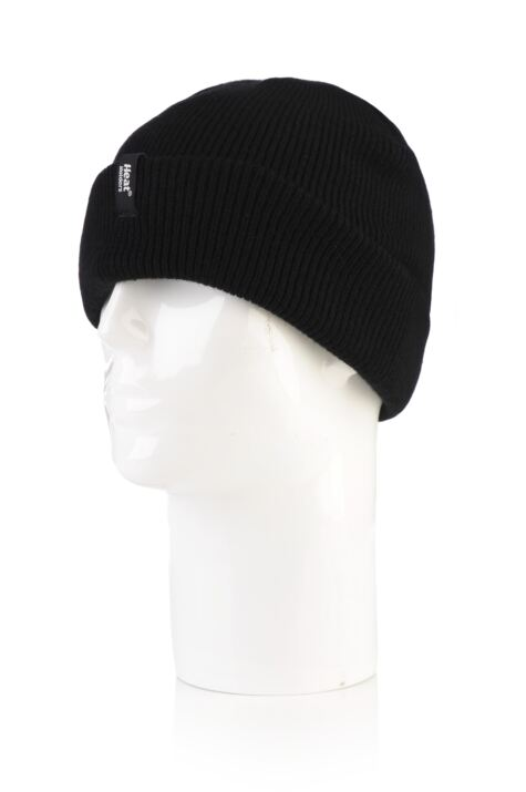 Mens 1 Pack Heat Holders Turn Over Cuff Thermal Hat Product Image