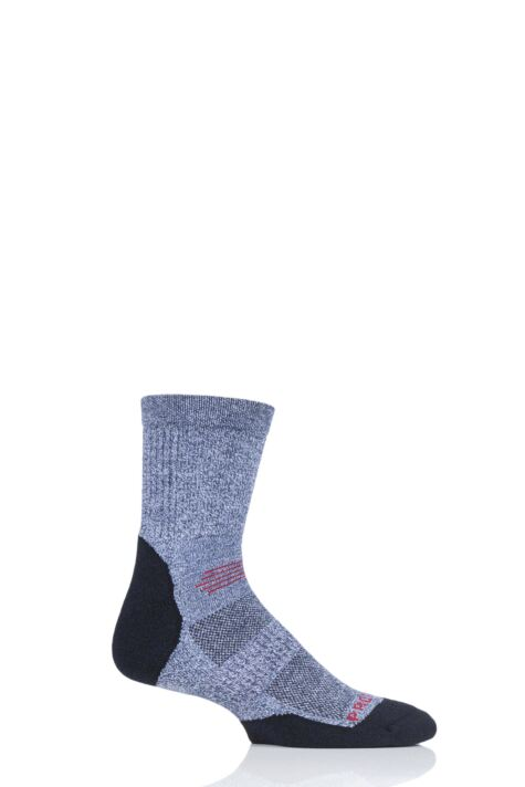 Mens and Ladies 1 Pair HJ Hall ProTrek Light Weight Hiking Socks Product Image