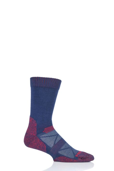 Mens and Ladies 1 Pair HJ Hall ProTrek Longer Leg Cushioned Adventure Trek Socks Product Image