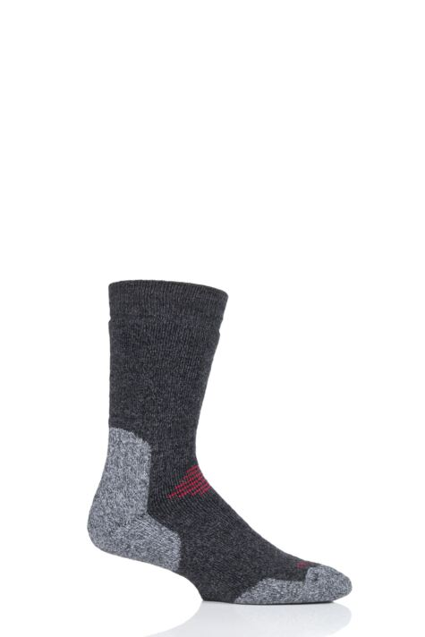 Mens and Ladies 1 Pair HJ Hall ProTrek Cushioned Mountain Socks Product Image