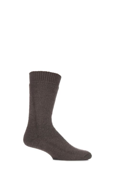 Mens and Ladies 1 Pair HJ Hall ProTrek Rambler Wool Walking Socks Product Image