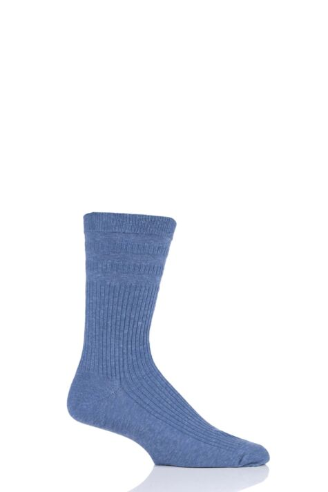 Mens 1 Pair HJ Hall Original Wool Softop Socks Product Image