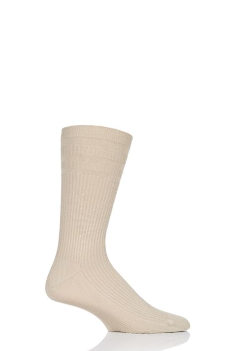 Mens 1 Pair HJ Hall Bamboo Softop Socks Product Image