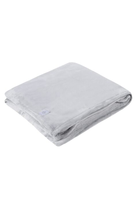 SOCKSHOP Heat Holders Snuggle Up Thermal Blanket In Ice Grey Product Image