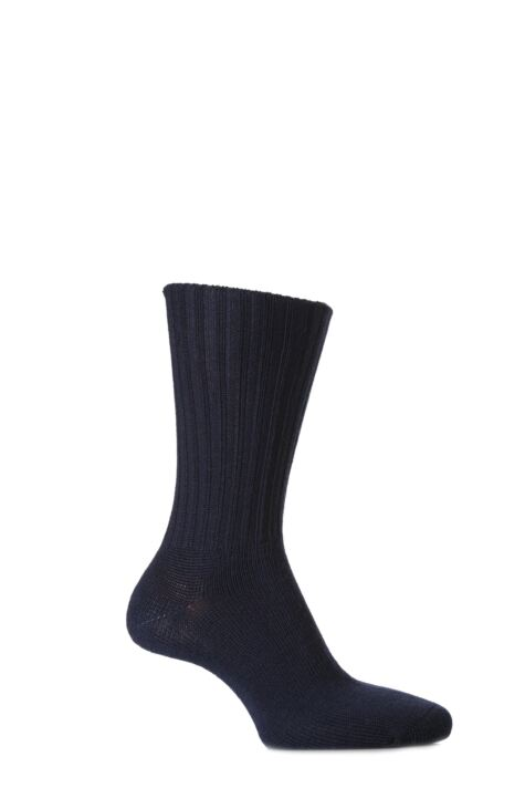 Mens 2 Pair J. Alex Swift Wool Socks With Comfort Cuff Product Image