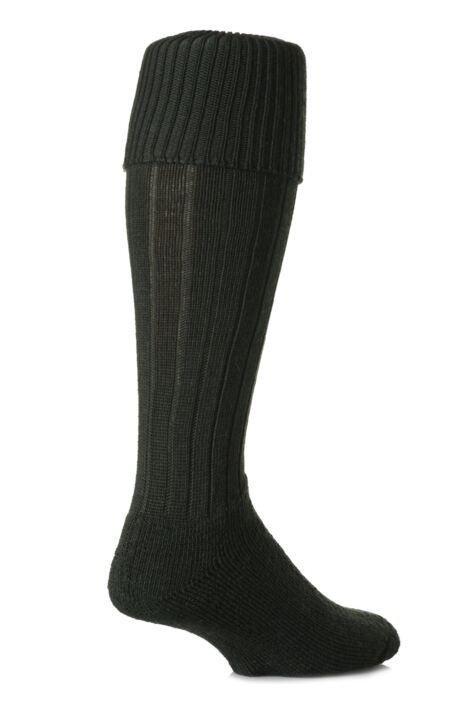 LONG WOOL CHUNKY KNEE LENGTH THICK RIB THERMAL BOOT SOCKS MENS HIKING WALKING