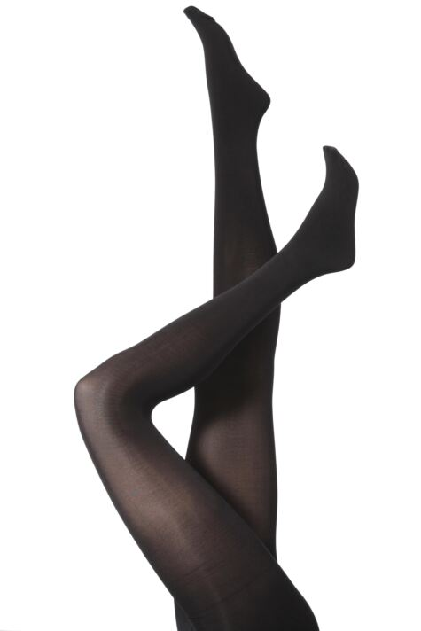 Ladies 1 Pair Jonathan Aston Gloss Opaque Tights Product Image