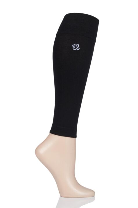 Mens and Ladies 1 Pair Atom Milk Compression Calf Sleeves Product Image