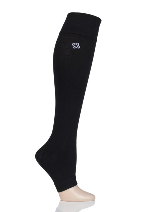 Mens and Ladies 1 Pair Atom Milk Compression Open Toe Socks Product Image