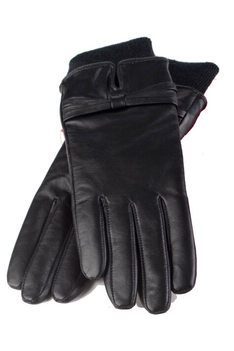 Ladies 1 Pair Heat Holders Leather Gloves 1.2 TOG Product Image