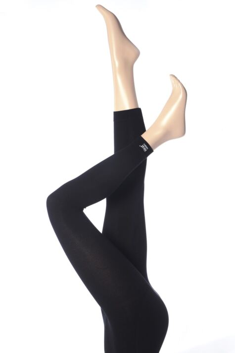 Ladies 1 Pair Heat Holders 0.39 Tog Thermal Underwear Leggings Product Image