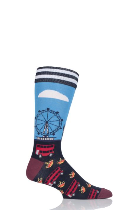 Mens 1 Pair Moustard London Cotton Socks Product Image