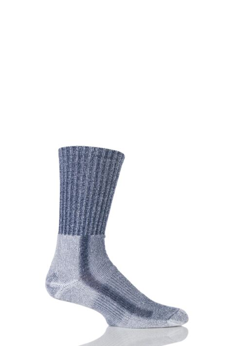 Mens 1 Pair Thorlos Light Hiking Moderate Cushion Socks With Thorlon Product Image