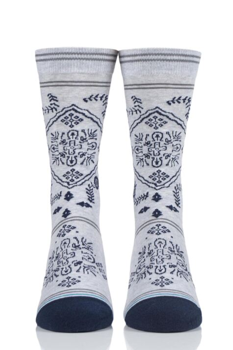 Mens 1 Pair Stance Bandero Cotton Socks Product Image