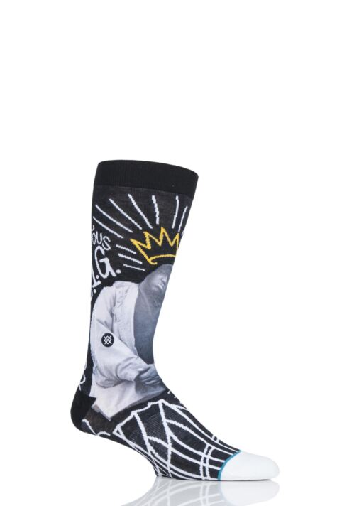 Mens 1 Pair Stance Anthem B.I.G Cotton Socks Product Image