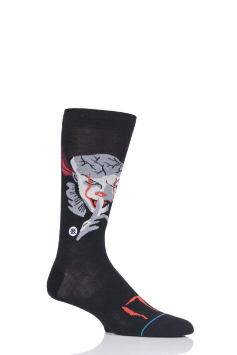Mens 1 Pair Stance IT Pennywise Socks Product Image