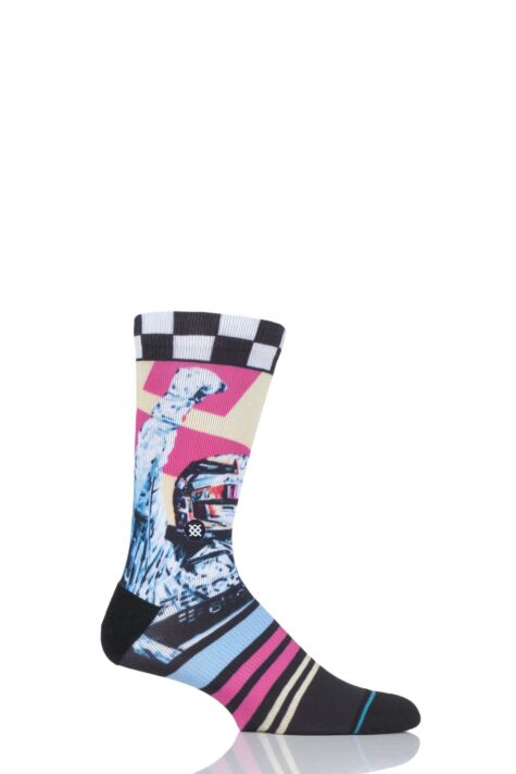 Mens 1 Pair Stance Global Player Lewis Hamilton Socks Product Image