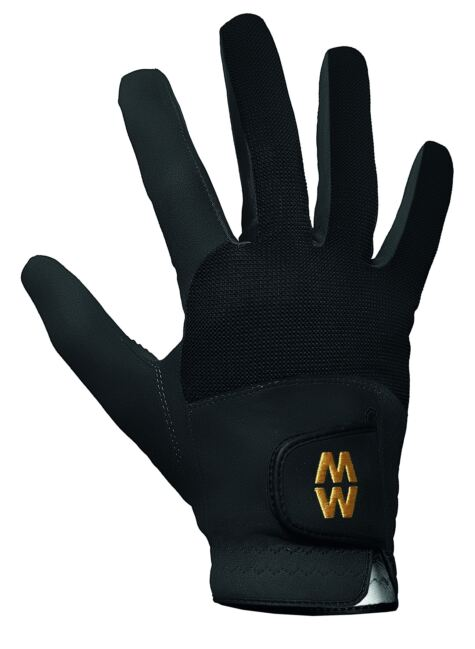 Mens and Ladies 1 Pair MacWet Short Mesh Sports Gloves Product Image
