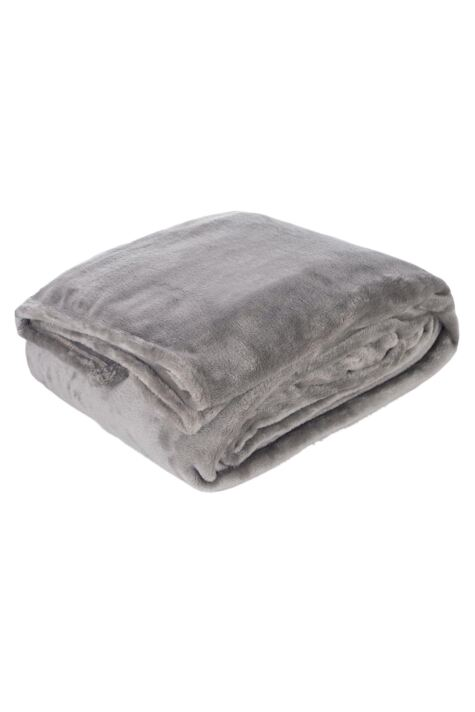 SOCKSHOP Heat Holders Snuggle Up Thermal Blanket In Moon Rock Product Image
