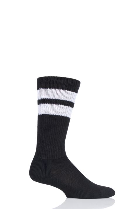 Mens and Ladies 1 Pair Thorlos Old School Over the Calf Sports Socks Product Image