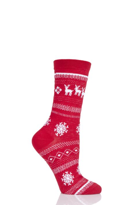 SockShop 1 Pair Christmas Sleigh Ride Socks Product Image