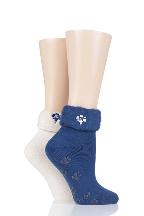 Ladies 2 Pair SOCKSHOP Thermal Home and Bed Socks Product Image