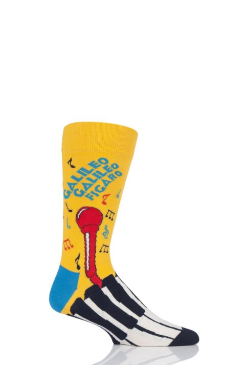 Happy Socks 1 Pair Queen 'Bohemian Rhapsody' Combed Cotton Socks Product Image