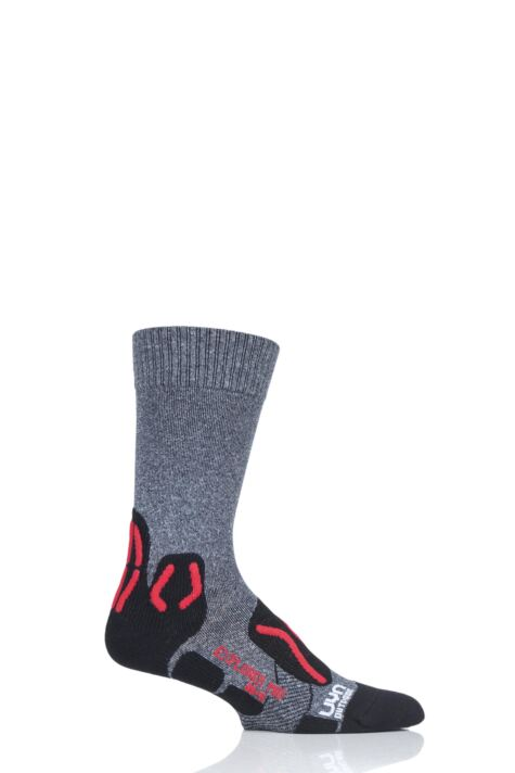 Mens 1 Pair UYN Outdoor Explorer Mid Length Socks Product Image