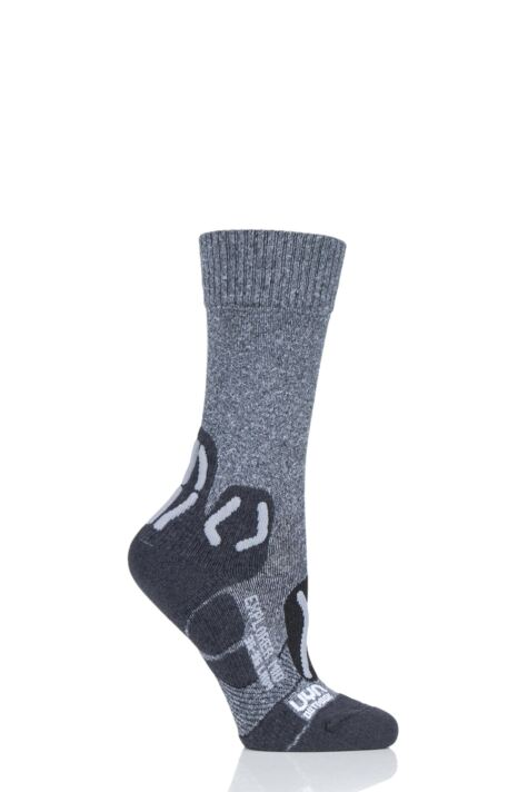 Ladies 1 Pair UYN Outdoor Explorer Mid Length Socks Product Image