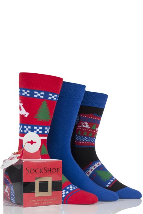 Men's 3 Pair SockShop Wild Feet Gift Boxes Product Image