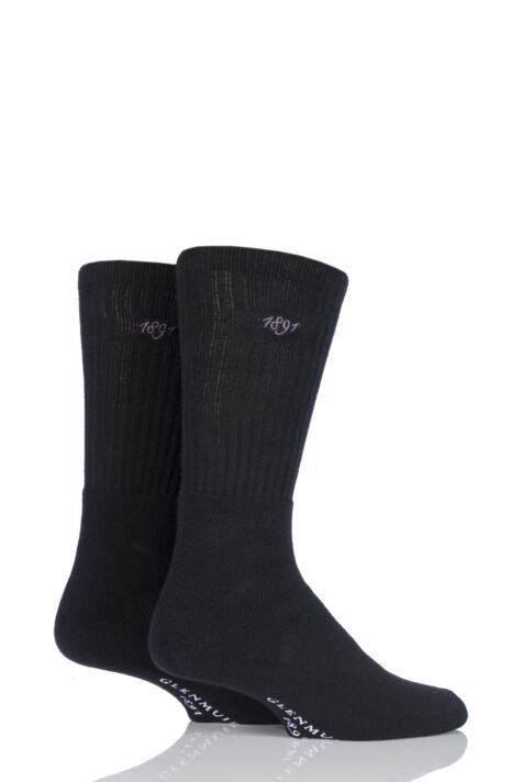 Mens 2 Pair Glenmuir Dunbar Cushioned Golf Socks Product Image