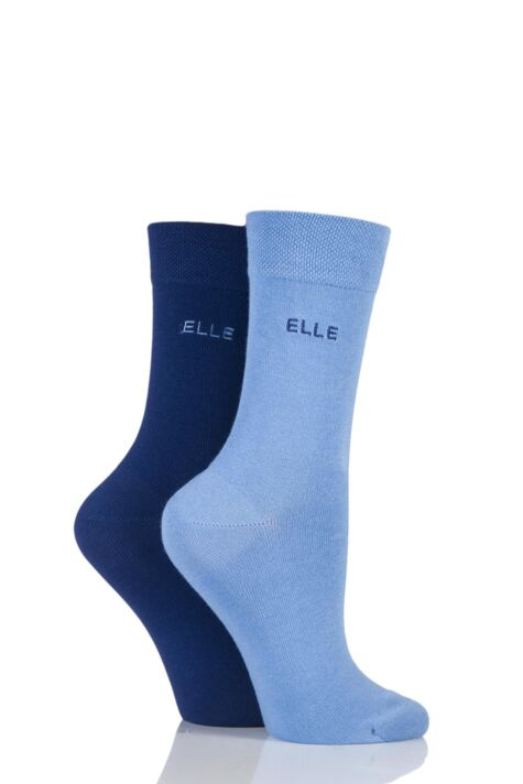 Plain Socks - Indigo / Sky Product Image
