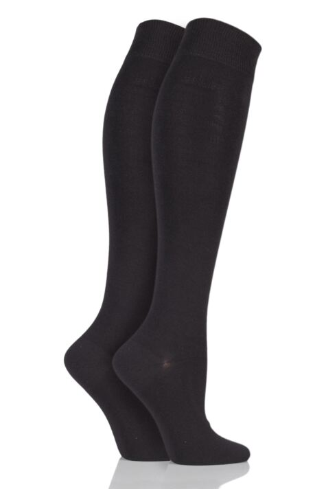 Plain Knee Highs - Cocoa Product Image