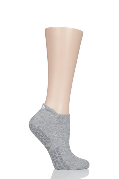 Ladies 1 Pair Tavi Noir Full Front Grip Yoga Organic Cotton Socks Product Image