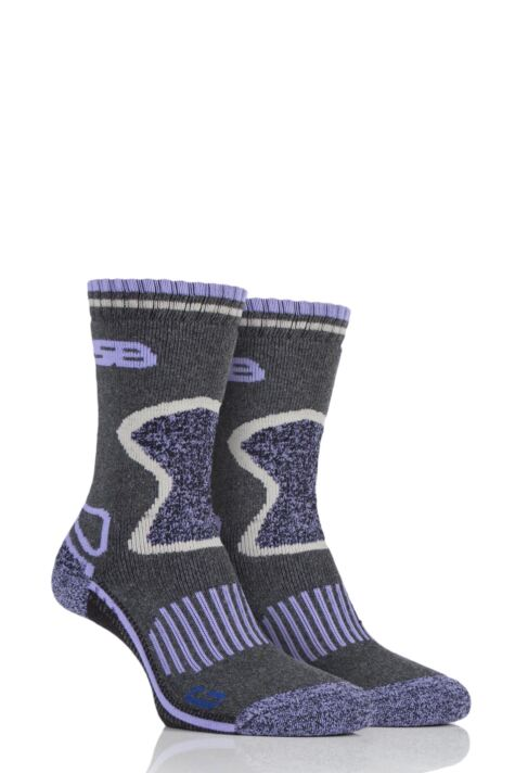 Ladies 2 Pair Storm Bloc with BlueGuard Wool Blend Socks Product Image