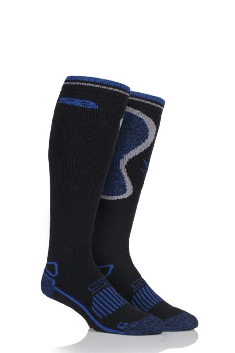 Mens 1 Pair Storm Bloc with BlueGuard Long Wool Blend Country Socks Product Image