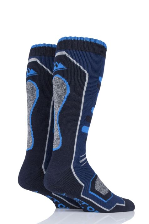 Mens 2 Pair Storm Bloc Long Leg Snow Socks Product Image