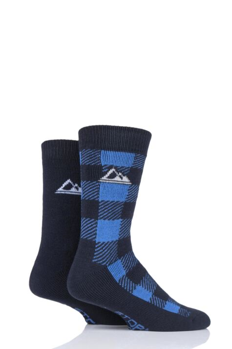 Mens 2 Pair Storm Bloc Thermal Boot Socks Product Image