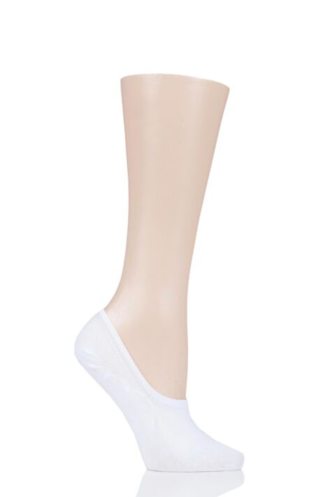 Ladies 1 Pair Thought Bamboo and Organic Cotton No Show Socks Product Image