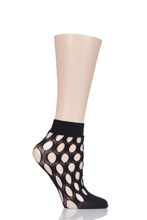 1 Pair Elle Polka Dot Anklet Socks Product Image