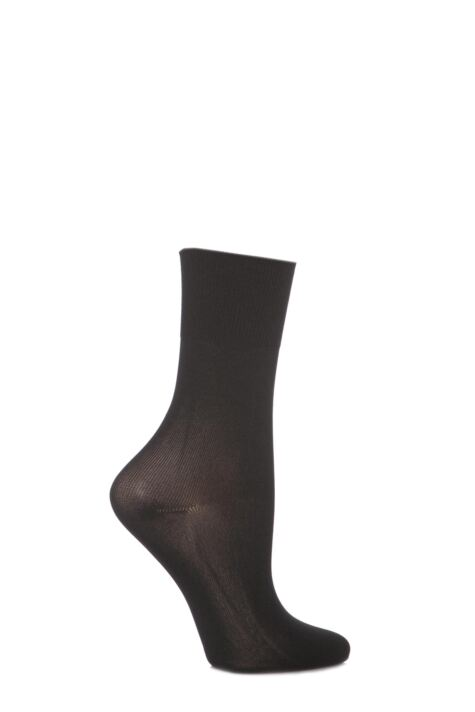 Girls 1 Pair Silky Ballet Socks Product Image