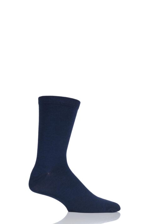 Mens 1 Pair Thought Jimmy Plain Bamboo and Organic Cotton Socks Product Image