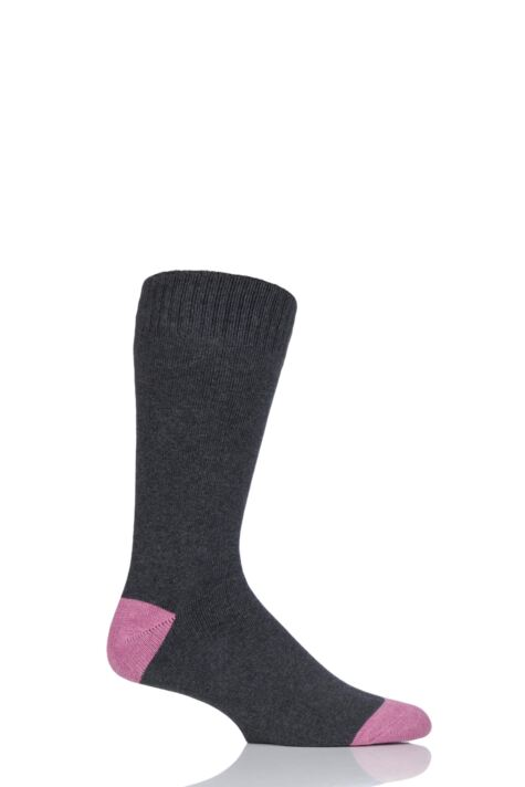 Mens 1 Pair Thought Walker Organic Cotton Walking Socks Product Image