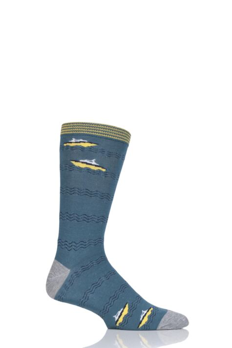Mens 1 Pair Thought Starboard Bamboo and Organic Cotton Socks Product Image