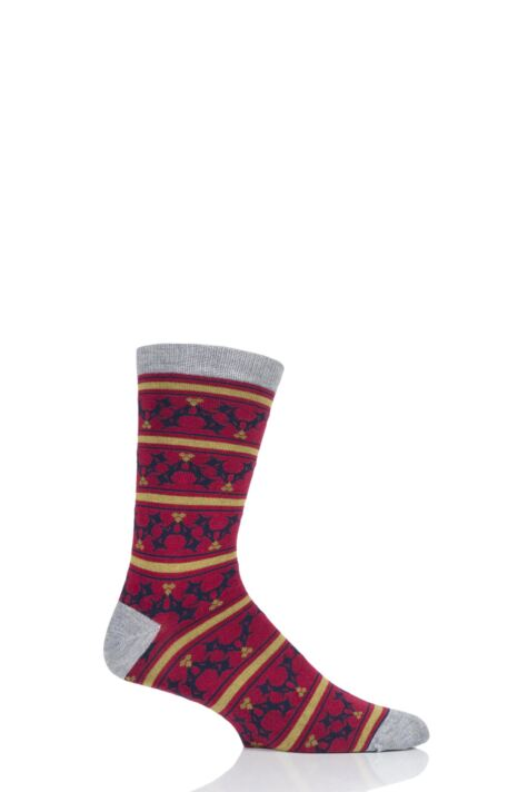 Mens 1 Pair Thought Holly Bamboo and Organic Cotton Socks Product Image