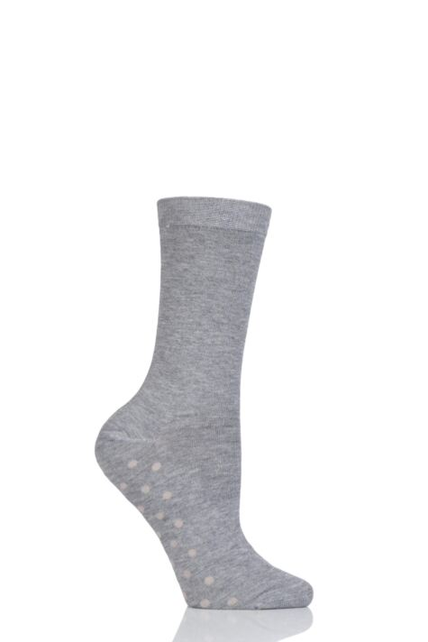 Ladies 1 Pair Thought Solid Doris Plain Bamboo Socks Product Image
