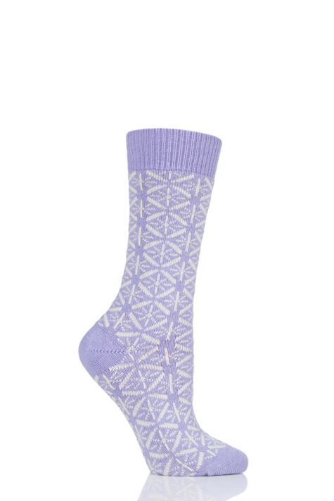 Ladies 1 Pair Thought Viridian Wool Socks Product Image
