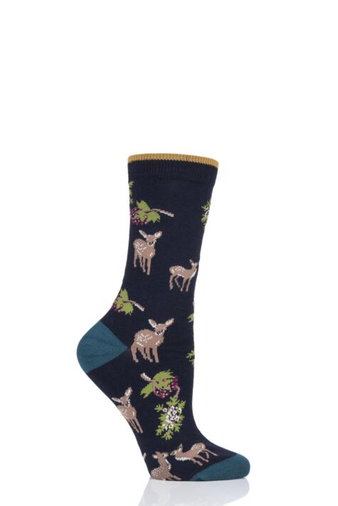 Ladies 1 Pair Thought Renko Bamboo and Organic Cotton Socks Product Image